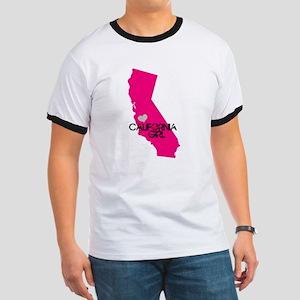 CALIFORNIA GIRL w HEART [4] T-Shirt